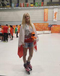 Bronze medalist